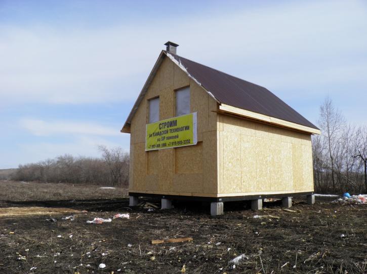 будинки з sip панелей за канадською технологією